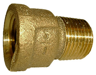 1/2 Brass Extension Coupling