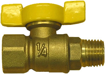 3 8 male pet cock valve