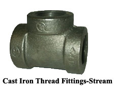 Cast Iron Thread Fittings-Steam