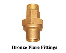 Bronze Flare Fittings