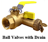 Ball Valves with Drain
