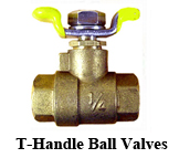 T-Handle Ball Valves