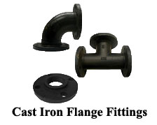 Cast Iron Flange Fittings