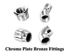 Chrome Plate Bronze Fittings