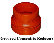 Grooved Concentric Reducers