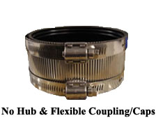 No Hub & Flexible Coupling/Caps