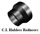C.I. Hubless Reducers